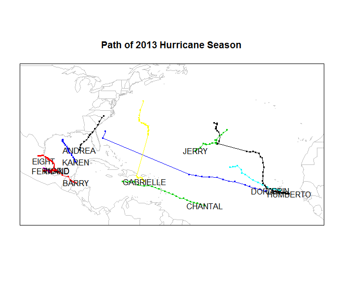 Tracking the 2013 Hurricane Season